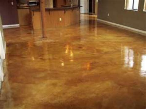 stained concrete floors home ideas