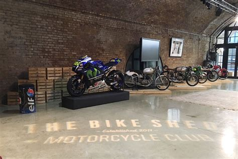 see s m1 at the bike shed this weekend mcn