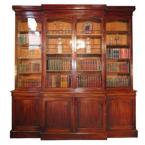 Breakfront Bookcase william iv mahogany breakfront bookcase 244736