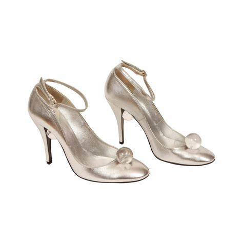 lucite high heels charles jourdan silver leather high heels w lucite
