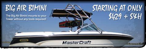 moomba boat bimini top biminis wake tower biminis big air
