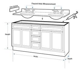 Bathroom Cabinet Dimensions Standard Bathroom Sink Cabinet Dimensions Bathroom Design