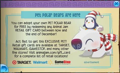 Animal Jam Retail Gift Cards - new jamaa journal polar bears and pet pandas here animal jam seekers