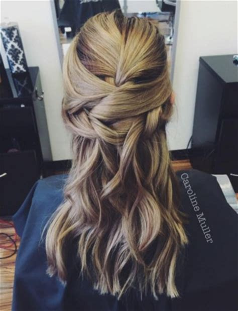 new half up half down hairstyles 22 new half up half down hairstyles trends popular haircuts