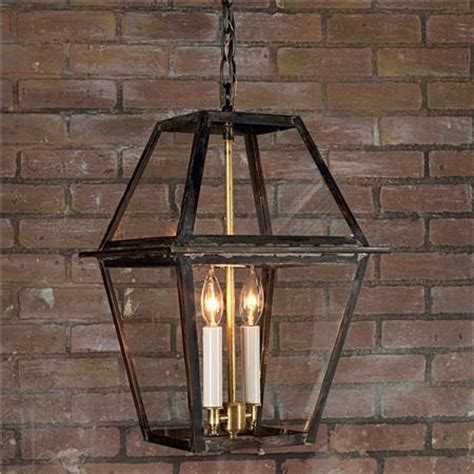 Kitchen Lantern Lights Richmond Outdoor Hanging Lantern Traditional Pendant Lighting By Mathis