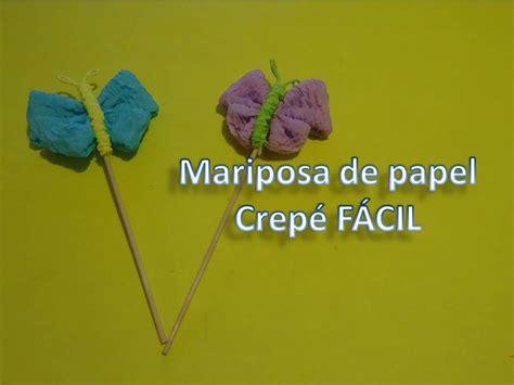 como hacer moo de papel crepe mariposa de papel crep 233 corrugado f 193 cil pumitanegraart