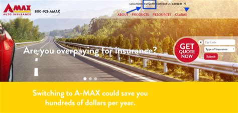 Amax Auto Insurance Login   Make a Payment