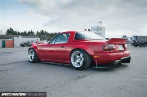 the intent purpose of a rocket bunny mx 5 speedhunters