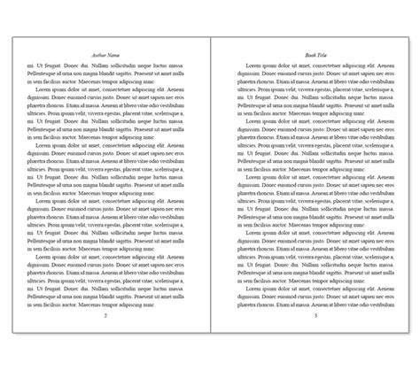 Book Template Word doc 680600 microsoft word book template incheonfair