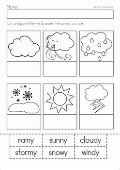 weather patterns worksheet pdf weather kindergarten weather and activities