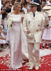 monaco royal wedding charlene wittstock tried to run