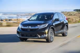 Honda Touring 2017 Honda Cr V Touring Drive Review Automobile