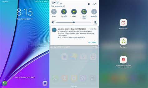 layout android marshmallow touchwiz screenshots zeigen samsung oberfl 228 che unter