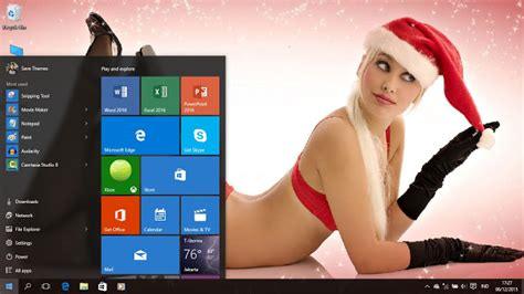 actress hot themes windows 7 christmas girls theme for windows 7 8 8 1 and 10 save themes
