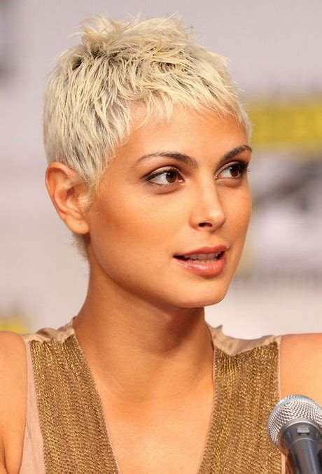 very short ash blond pixi cut short pixie hairstyles for 2016