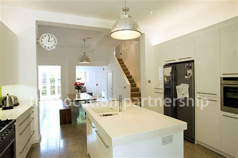 Small Narrow Kitchen Ideas a light and modern open plan kitchen diner in a victorian