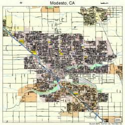 modesto california map 0648354