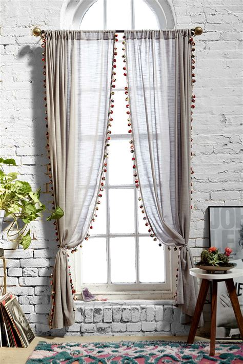magical thinking curtains magical thinking pompom curtain urban outfitters ikea