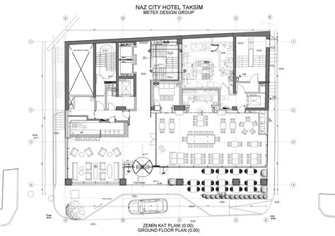 Floor Plan For Bakery Shop Gallery Of Naz City Hotel Taksim Metex Design Group 41