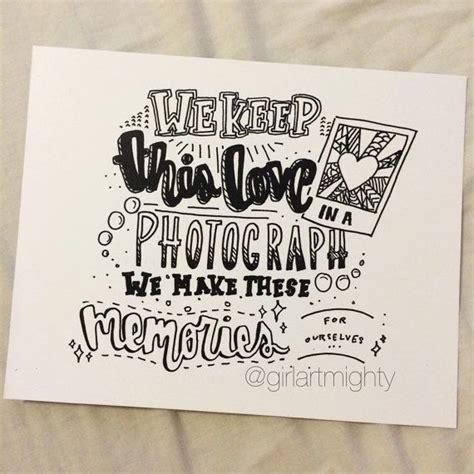 doodle bug lyrics lyrics from ed sheerans photograph printed on high