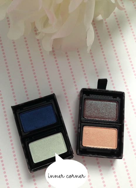 Mirabella Country Fresh Trio Eye Shadow cool toned of the day with viseart palette never say die