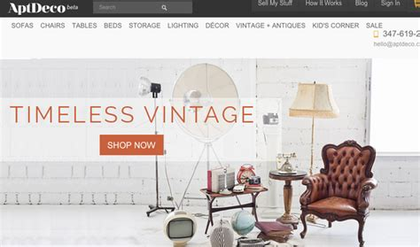 apt deco 9 websites to buy and sell used furniture that aren t