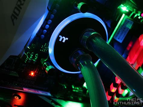 Thermaltake W2 Cpu Water Block thermaltake pacific w4 rgb cpu water block review is it thepcenthusiast