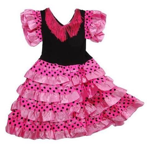 Robe Espagnole Flamenco Fille - robe enfant de danse flamenco 6 ans pois achat