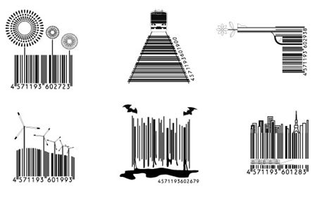 barcode tattoo theme in japan even the barcodes are well designed fast