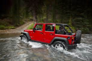 Jeep Wagler 2011 Jeep Wrangler Facelift Official Photos