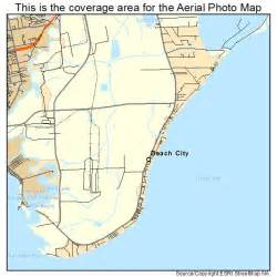 aerial photography map of city tx