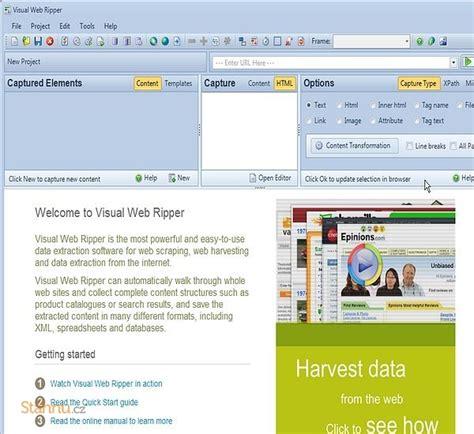 tutorial visual web ripper visual web ripper ke stažen 237 zdarma download