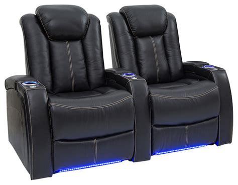 power headrest theater seating seatcraft delta black leather power headrest recline