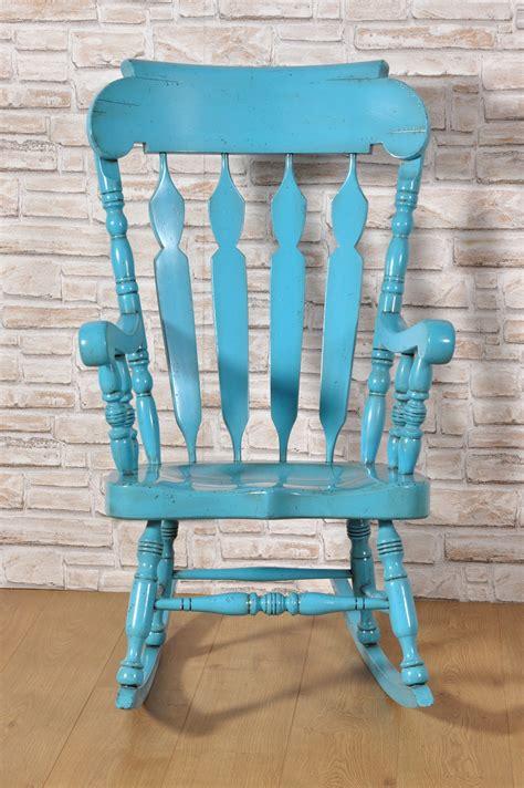 sedie a dondolo country sedia a dondolo con braccioli in stile country inglese