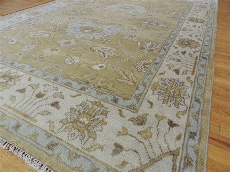 6x9 Wool Area Rugs Fabulous Antique Wash Vegetable Dye Oushak Area Rug 6x9 Beige Gold Wool Ebay