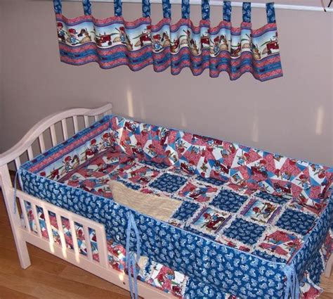 international bedding international harvester crib bedding set rag quilt case