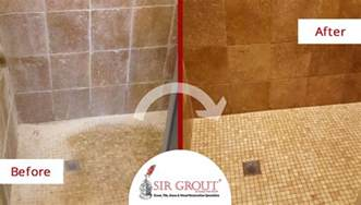 Grout Cleaning Dallas Goodbye Soap Scum See How This Shower In Dallas Tx Underwent An Astonishing Transformation
