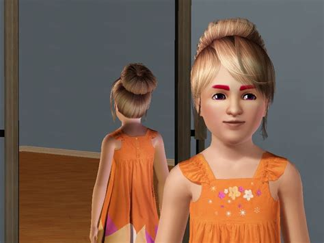 skysims hair child 188 sims 3 pinterest sims 3 child hair girl newhairstylesformen2014 com