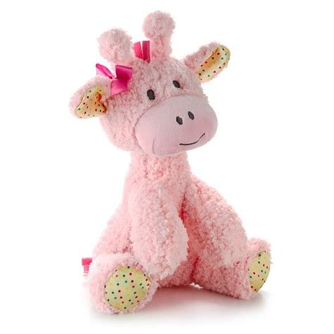 Baby Shower Stuffed Animals by Hallmark Baby Pink Plush Giraffe Stuffed Animal Toys