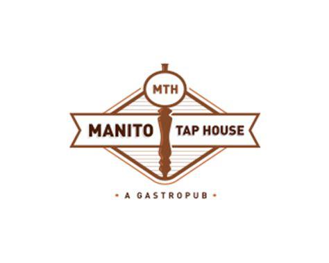 manito tap house logopond logo brand identity inspiration manito tap house