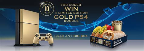 Ps4 Giveaway Ign - you can win a golden ps4 by eating at taco bell ign