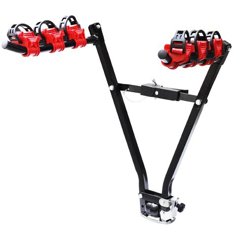 Tow Bar Rack by Universal 3 Bike Bicycle Tow Bar Car Mount Rack Stand