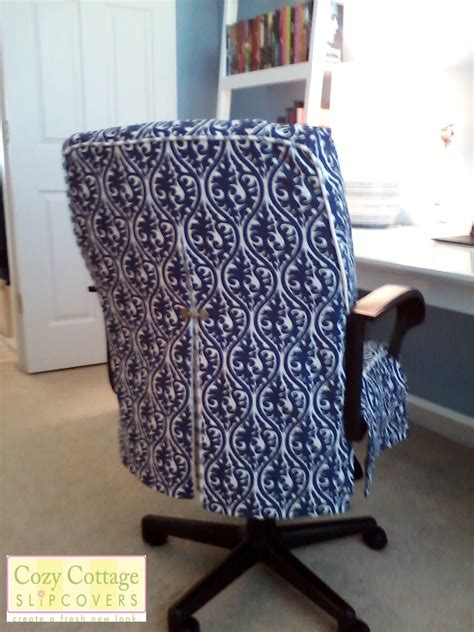 slipcovers for desk chairs cozy cottage slipcovers fun office chair slipcovers