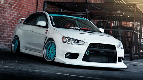mitsubishi lancer wallpaper full hd wallpaper mitsubishi lancer tuning sedan stickers