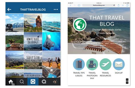 blogger travel a visual guide to using instagram to promote your brand