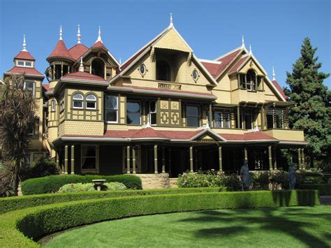 One Year Trip The Winchester House To Yosemite