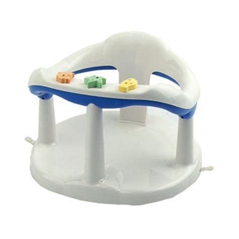 bathtub ring for baby to sit in best buy aquababy bath ring white blue 67 best price