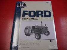 Ford 2000 Tractor Manual Ebay
