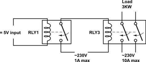230v relay wiring diagram wiring diagram and schematic