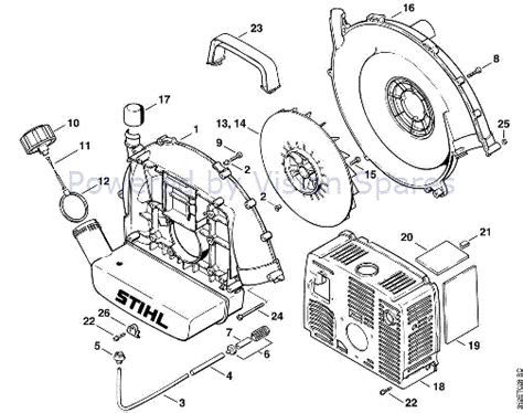stihl leaf blower parts diagram outstanding stihl leaf blower parts diagram gallery best